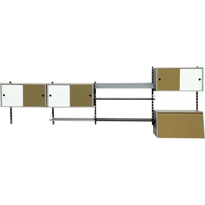 Vintage wall system by Tjerk Reijenga for Pilastro 1960s
