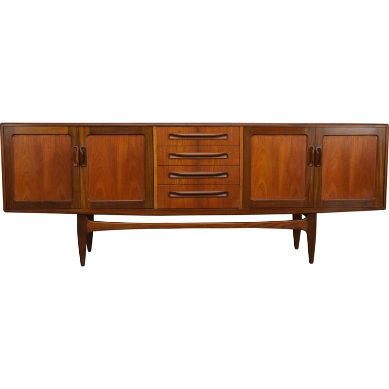 Vintage sideboard in teak Fresco by V.B. Wilkins for G Plan 1960s
