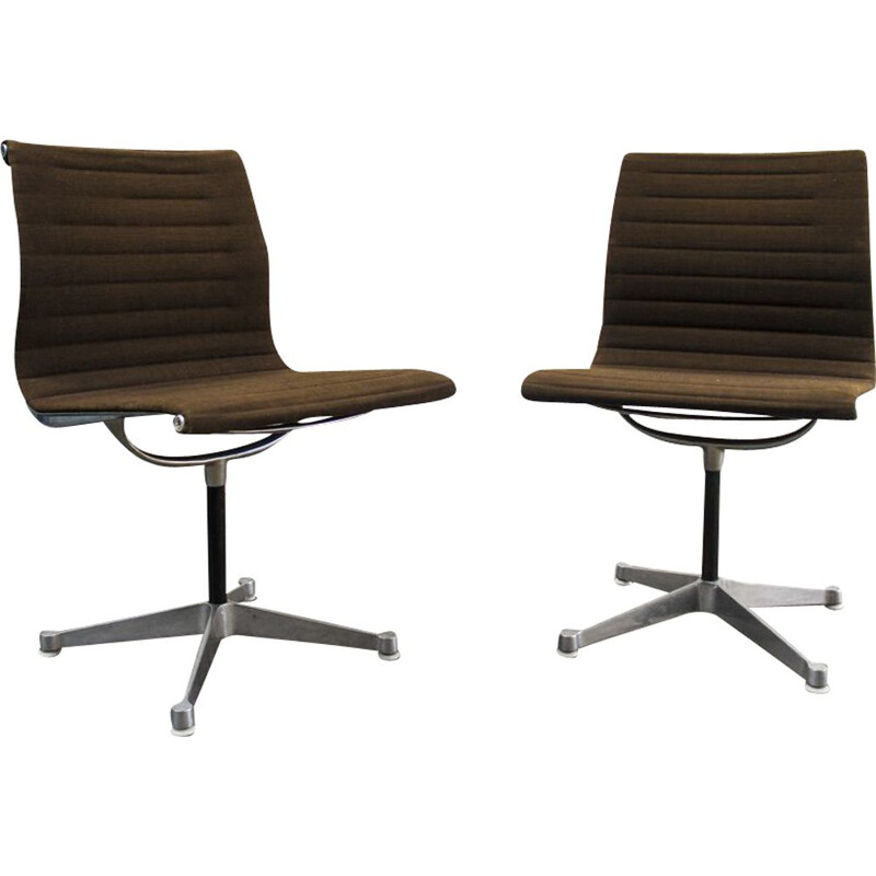 Vintage chairs EA 105, Charles and Ray Eames