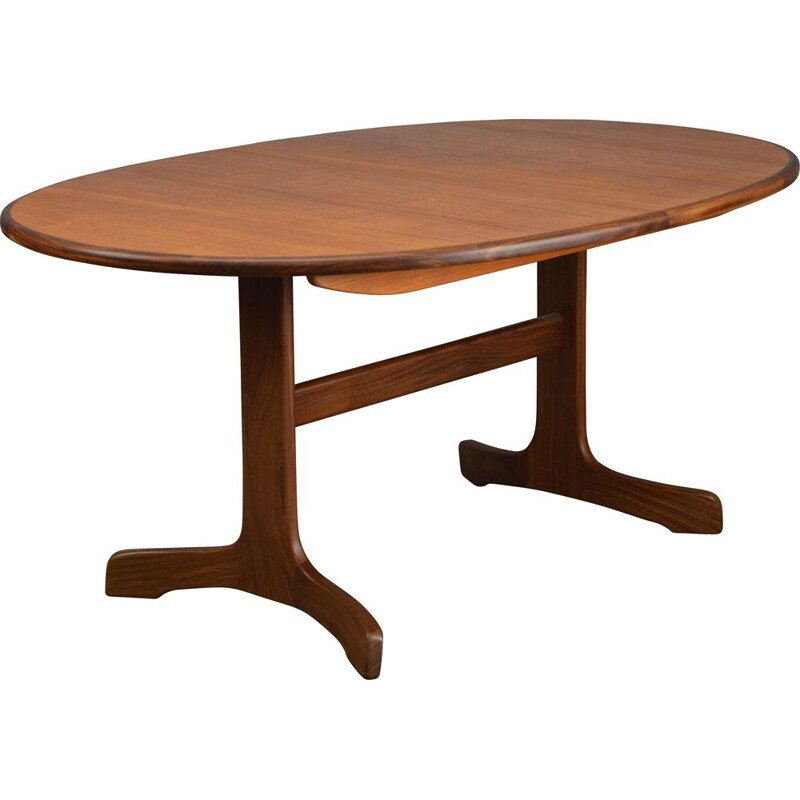Vintage oval dining table in teak by G-Plan