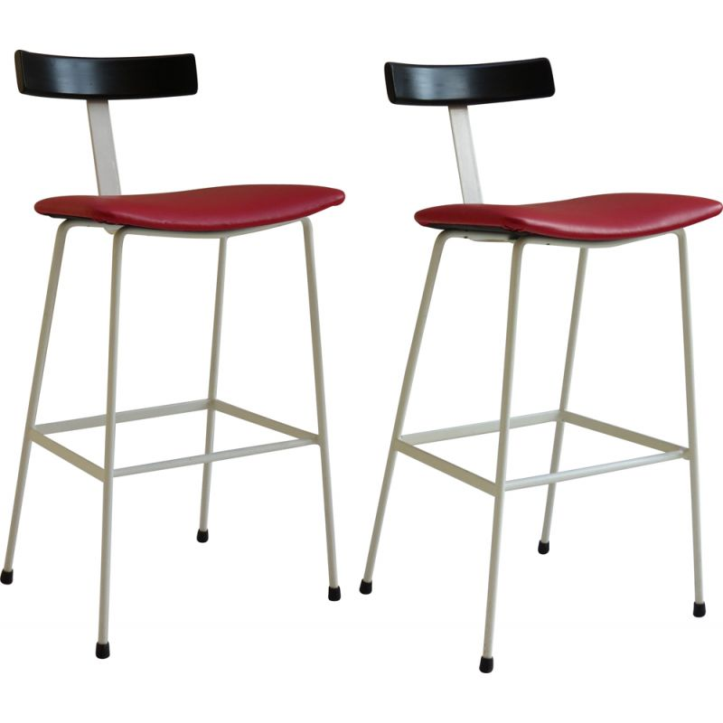 Pair of Program stools by Frank Guille for Kandya