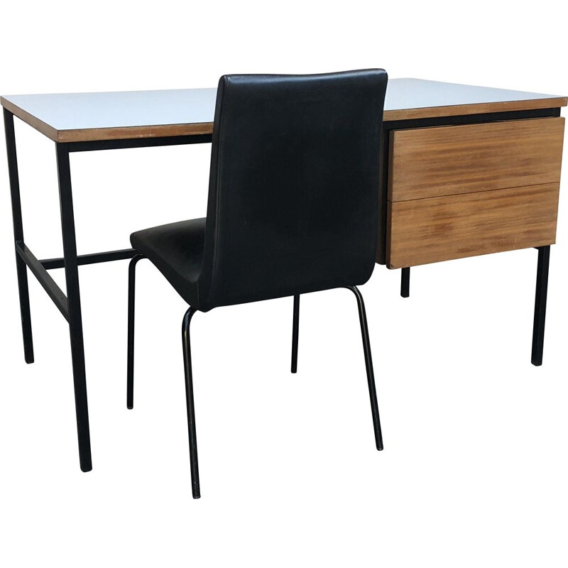 Vintage desk and chair by Pierre Guariche