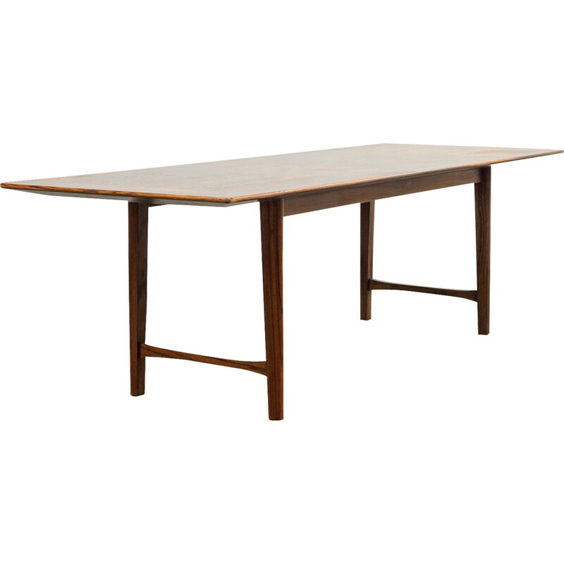 Vintage coffee table in rosewood by Wilhelm Renz, Germany 1960s