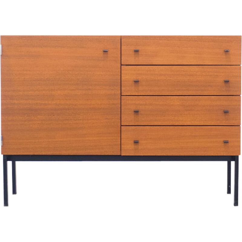Vintage teak sideboard by Pierre Guariche for Meurop