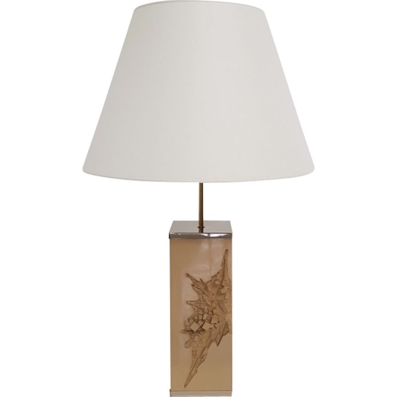 Vintage Colorado resin lamp by Philippe Cheverny