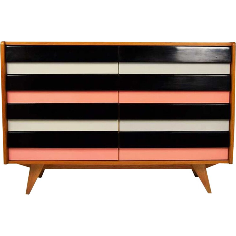Vintage chest of drawers by Jiří Jiroutek 1960s
