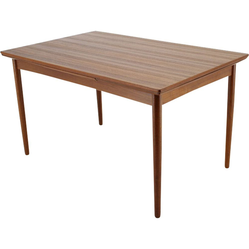 Vintage Teak Extendable Table 1960s
