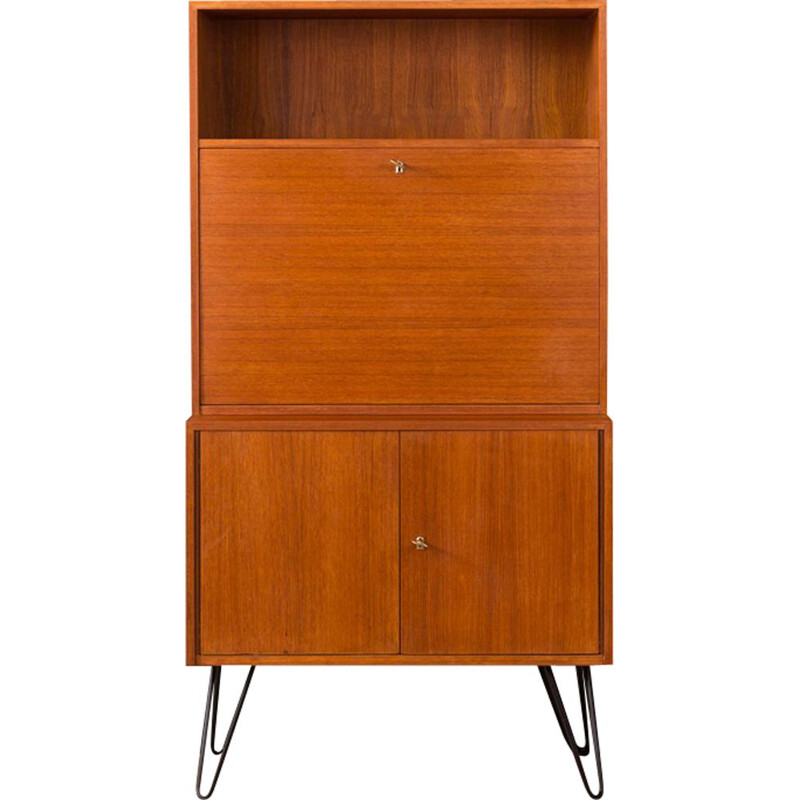 Vintage secretary desk by DeWe Deutsche Werkstätten from the 1960s