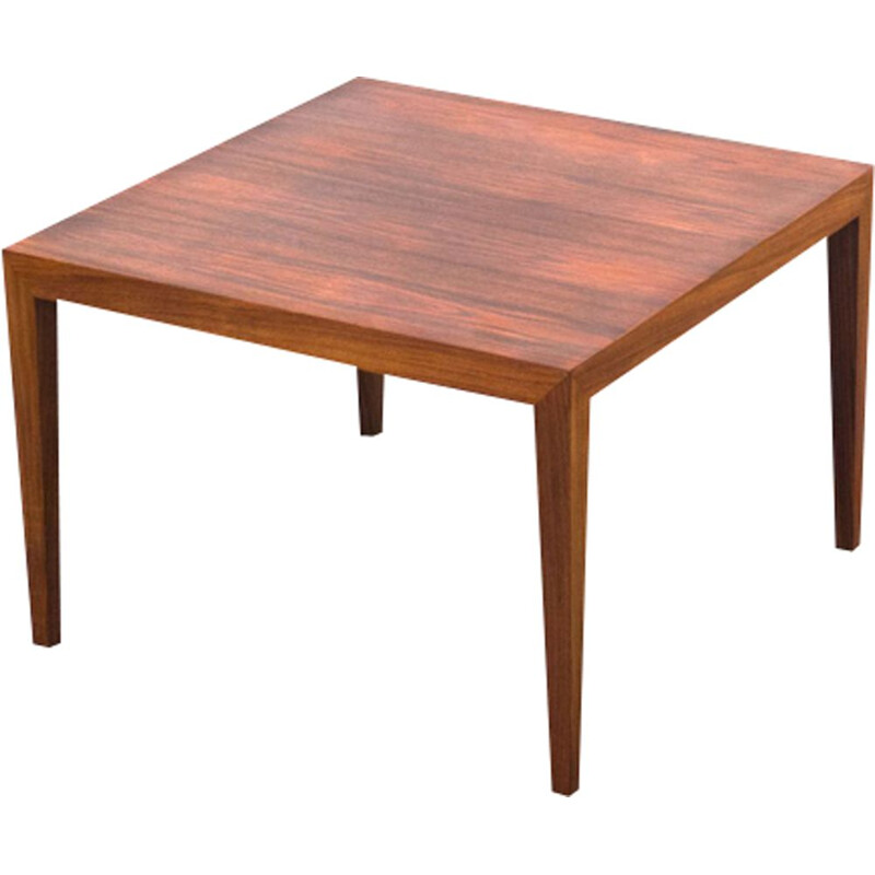 Vintage coffee table for Haslev Møbelsnedkeri in rosewood 1950s