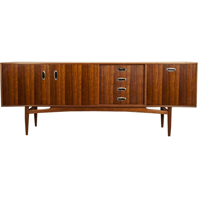 Vintage beech and walnut sideboard from G-Plan