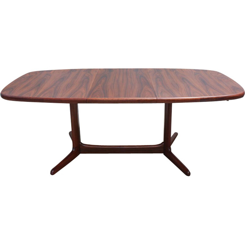Vintage danish table for Rasmus in rosewood 1960s