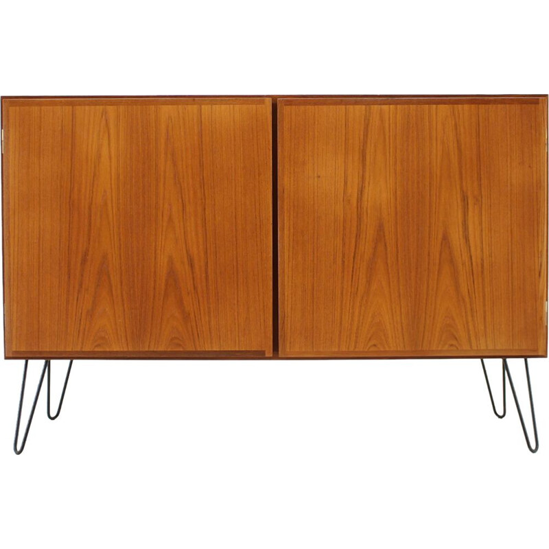 Vintage highboard in teak Omann Jun 1960s