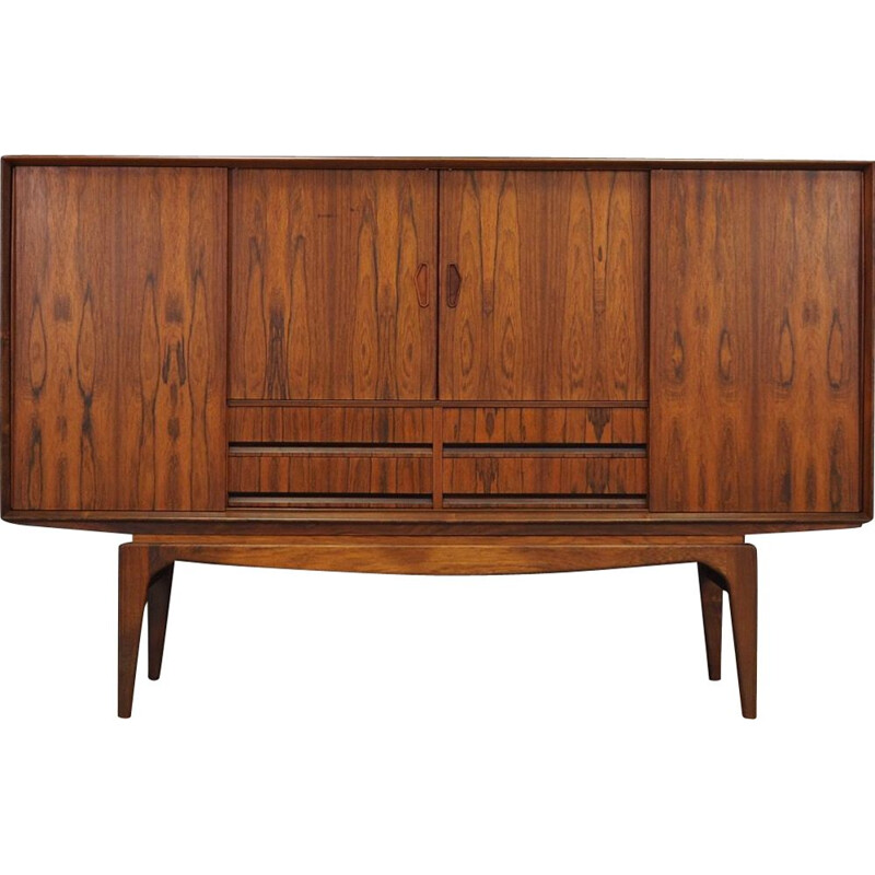 Vintage danish highboard in rosewood 1970s