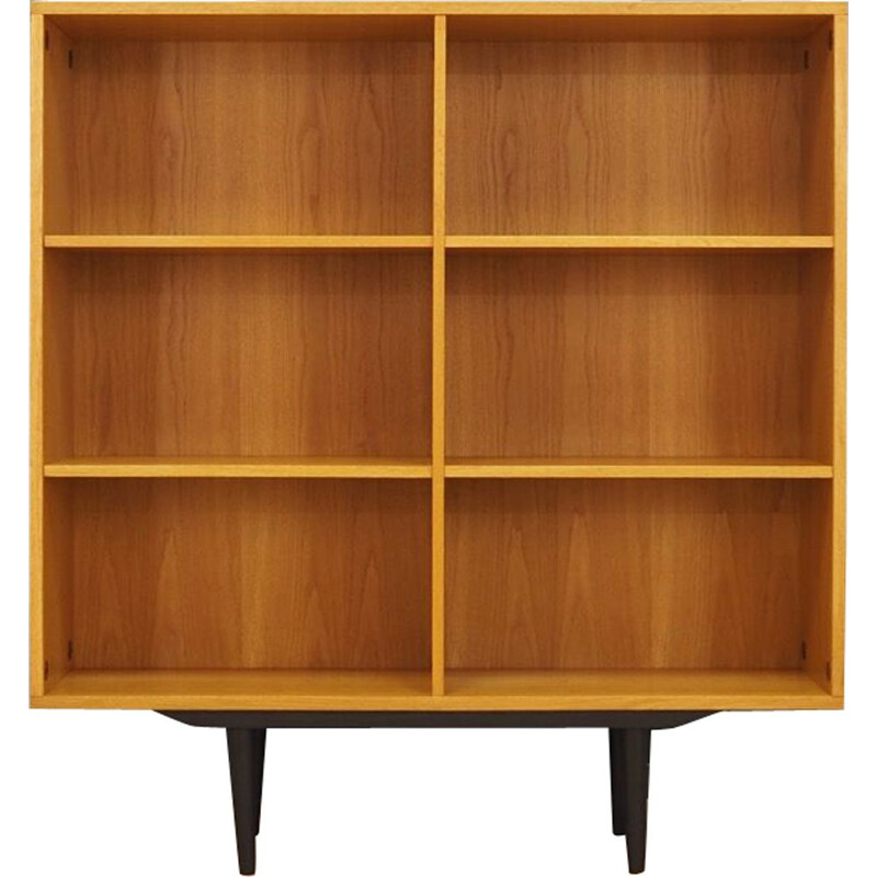Vintage danish bookcase in ashwood 1960s