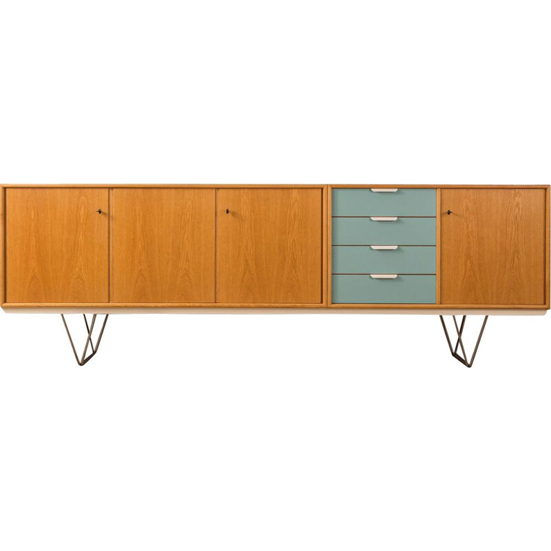 Vintage sideboard by Heinrich Riestenpatt from the 1960s