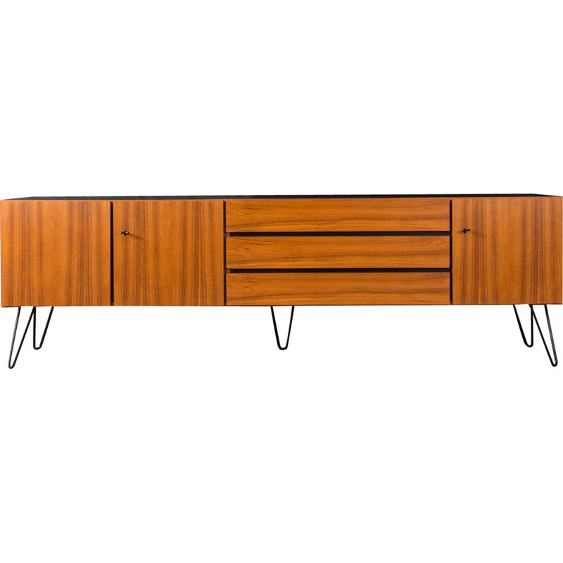 Vintage walnut sideboard 1960