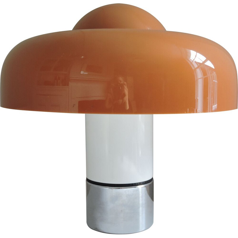 Brumbury lamp vintage by Luigi Massoni for Harvey Guzzini 1969