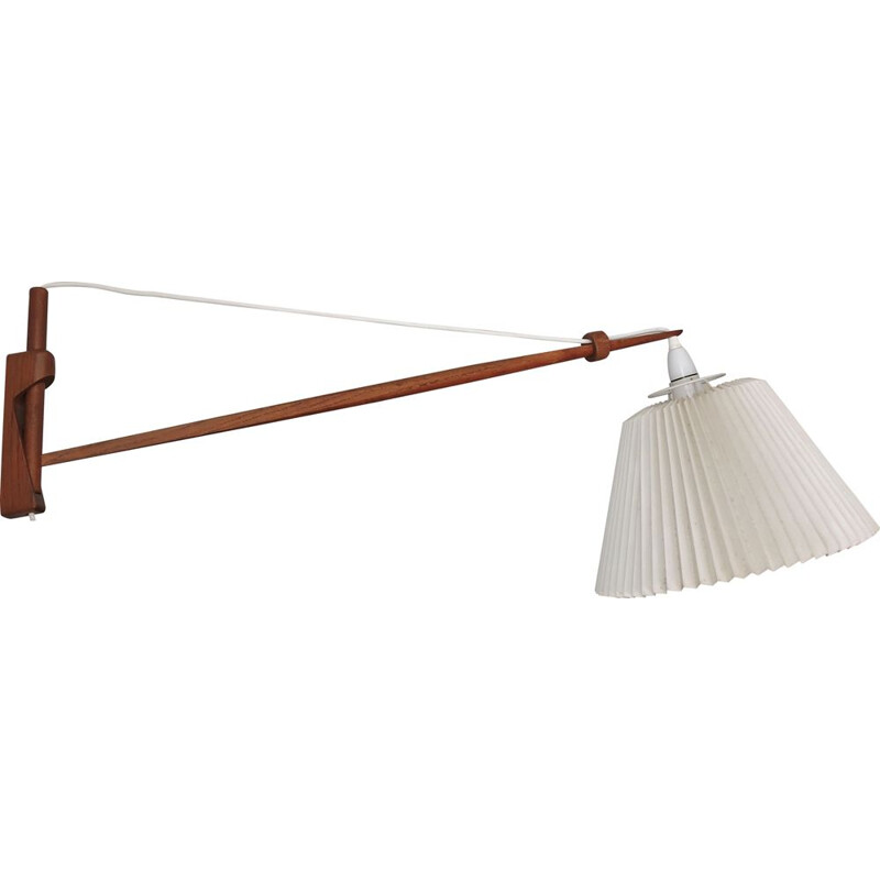 Vintage teak Wall lamp by Le Klint 1960