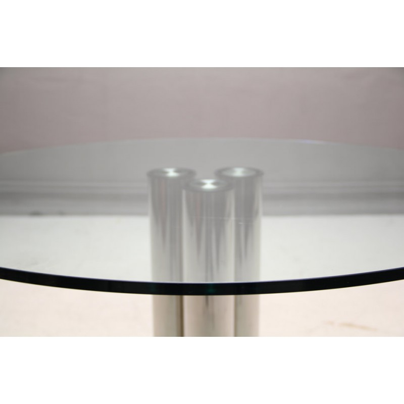 Zanotta round dining table marco zanuso 1972 design market previous greentooth Gallery