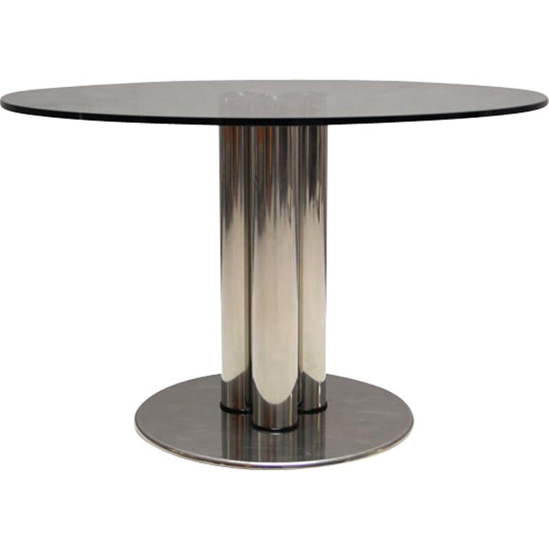 Zanotta round dining table, Marco ZANUSO - 1972