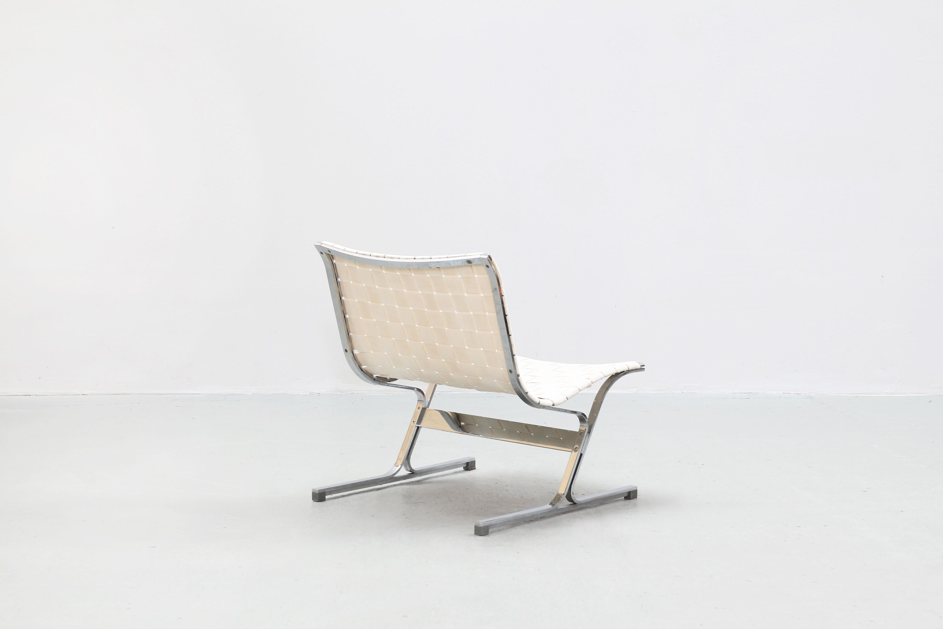 Sensational Pair Of Vintage Lounge Chairs By Ross Littell For Icf Italy Creativecarmelina Interior Chair Design Creativecarmelinacom