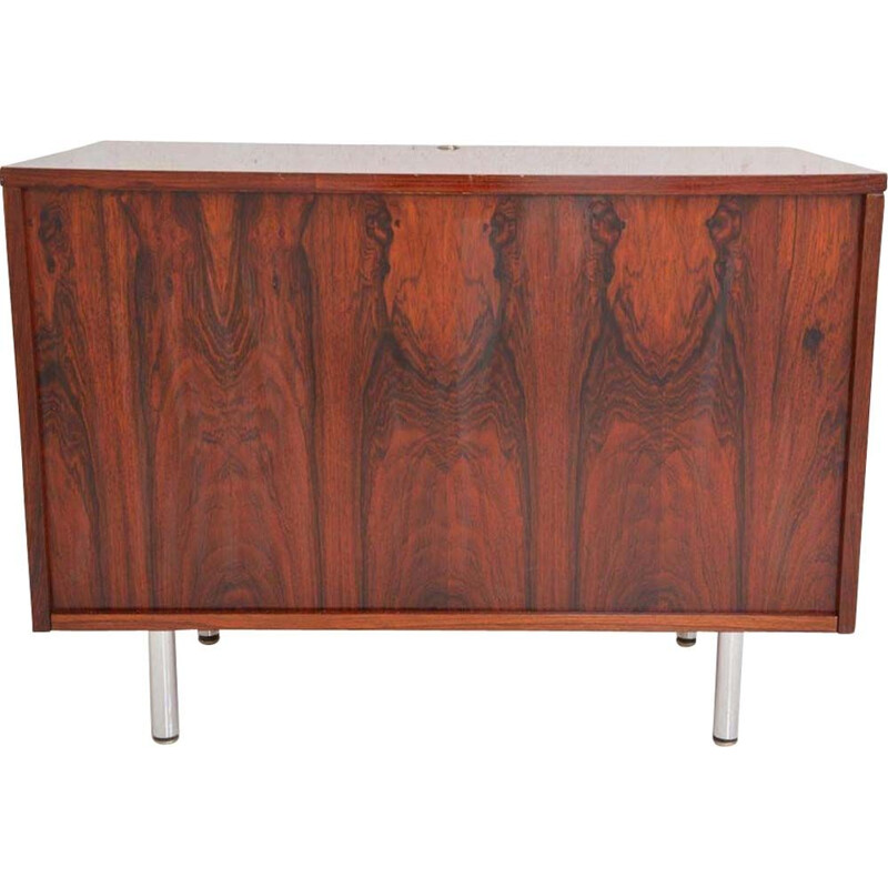 Small vintage buffet in rosewood by George Nelson