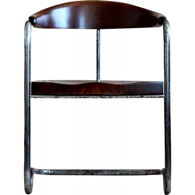 Vintage cantilever cabinet chair