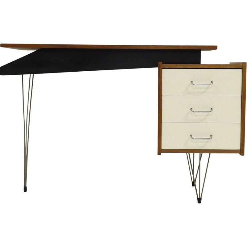 Vintage Hairpin desk by Cees Braakman for Pastoe