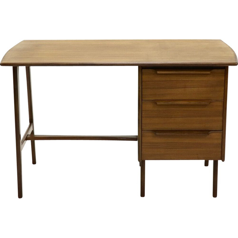 Vintage teak writing desk Danish design, 1960