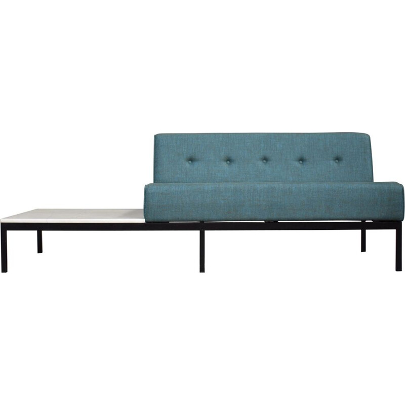 Vintage corner sofa with marble coffee table 070-series by Kho Liang Ie for Artifort