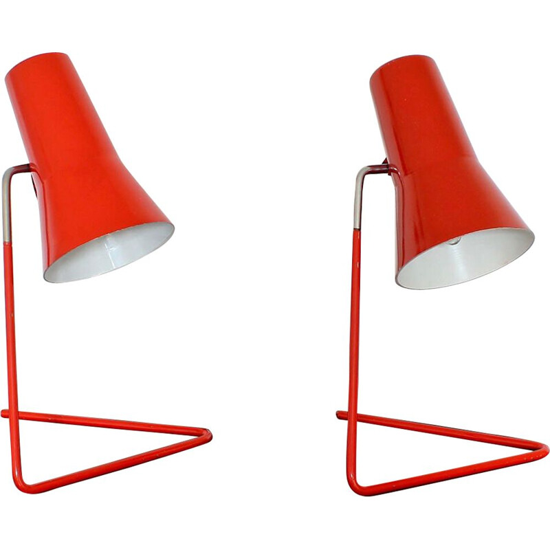 Vintage table lamp by Josef Hurka for Drupol-Praha
