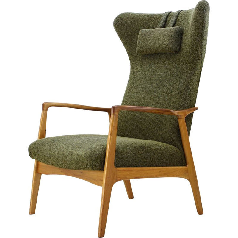 Vintage Danisch wing chair, 1960