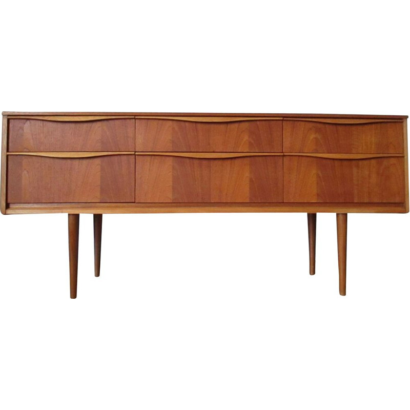 Vintage Vague 6T chest of drawers for Austin Suite in teak 1960