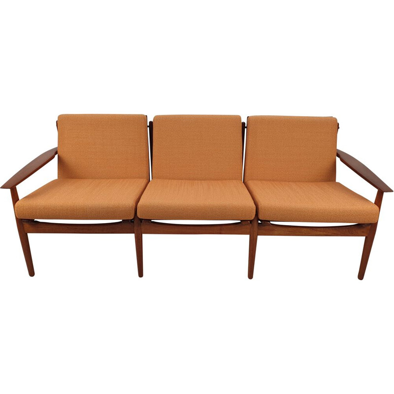 Vintage living set in teak by Svend Åge Eriksen for Glostrup Møbelfabrik 60s