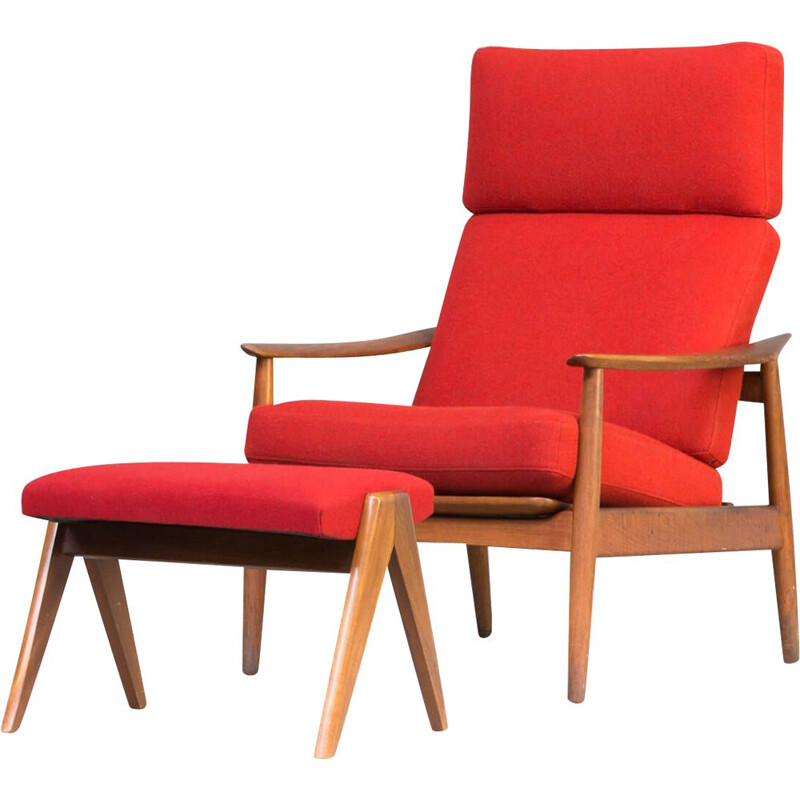 Vintage easy chair by Arne Vodder for France & Søn 1960s