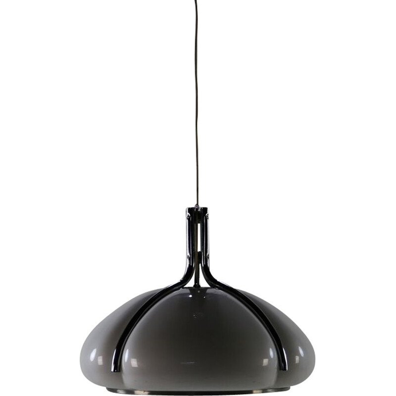 Vintage hanging lamp Quadrifoglio by Harvey Guzzini 1970s