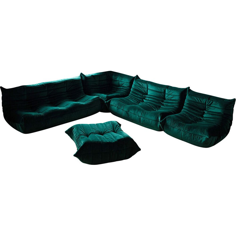 Vintage Living room set Togo by Michel Ducaroy for Ligne Roset