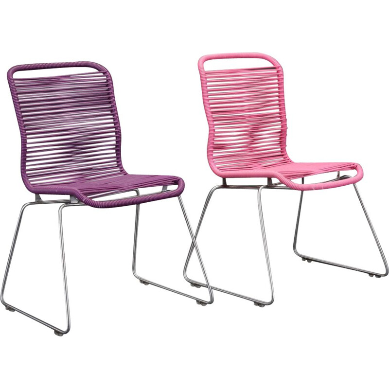 Set of 2 vintage chairs - Verner Panton