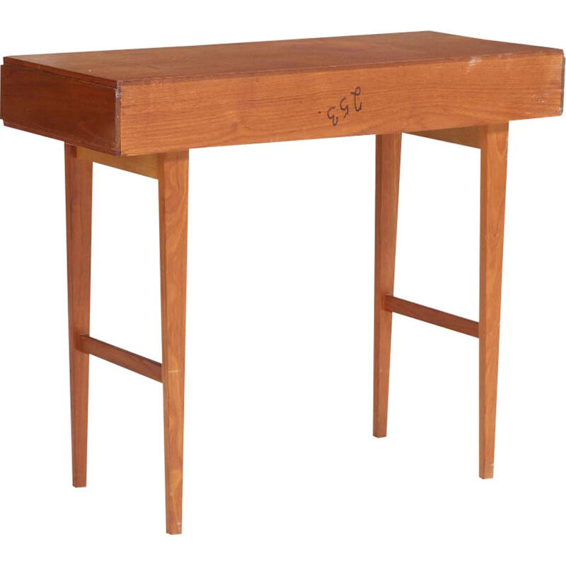 Scandinavian vintage teak table 1960
