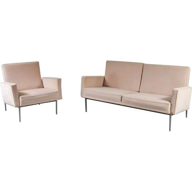 Vintage living room set by Florence Knoll, USA 1960