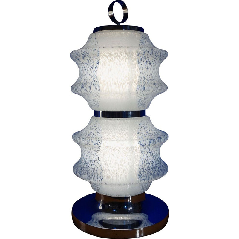Vintage lamp in Murano glass Italy 1970s