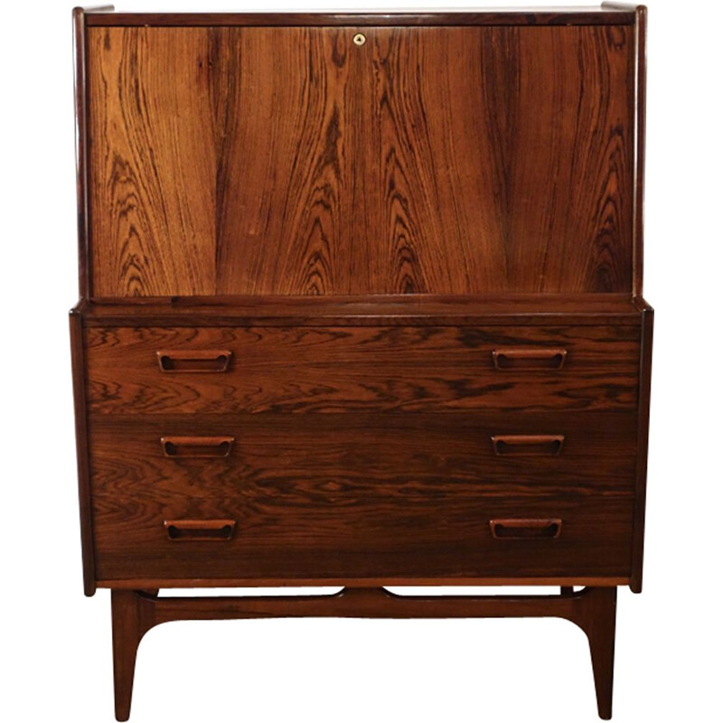 Vintage Danish secretary in Rio rosewood