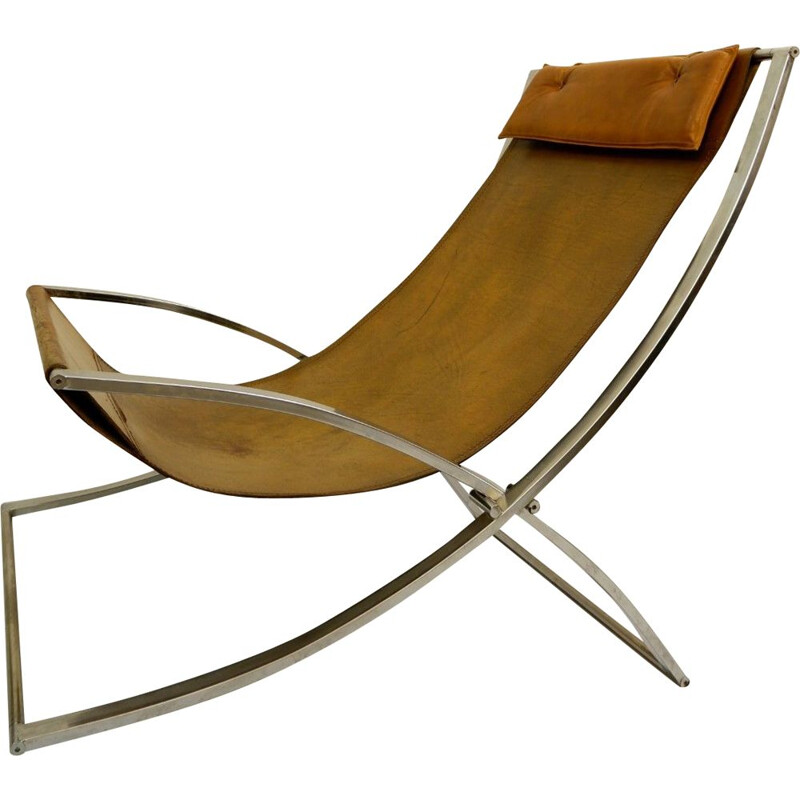 Vintage Louisa chaise longue by Marcello Cuneo