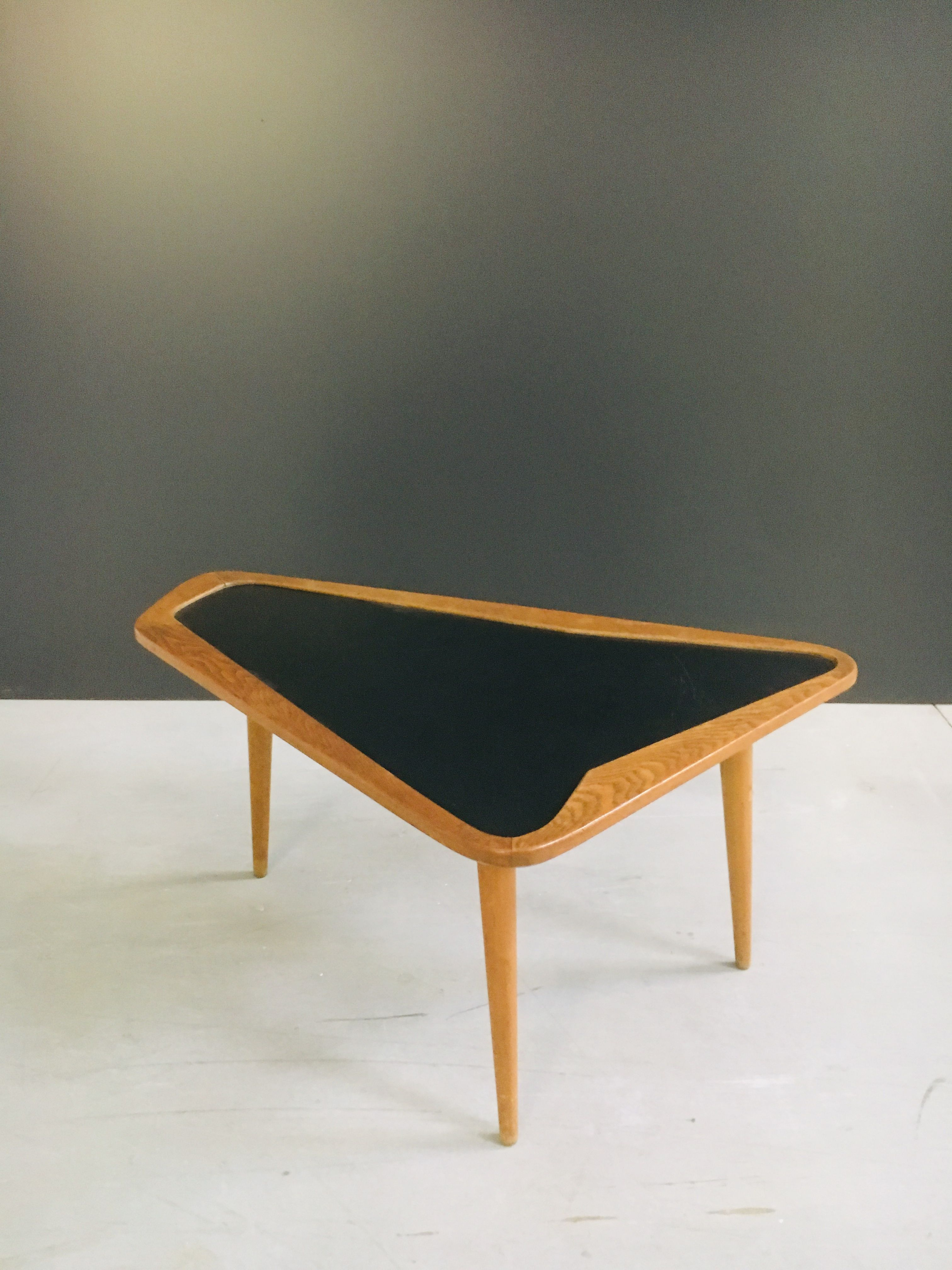 Table Basse En Formica vintage coffee table for castalanetta in wood and formica