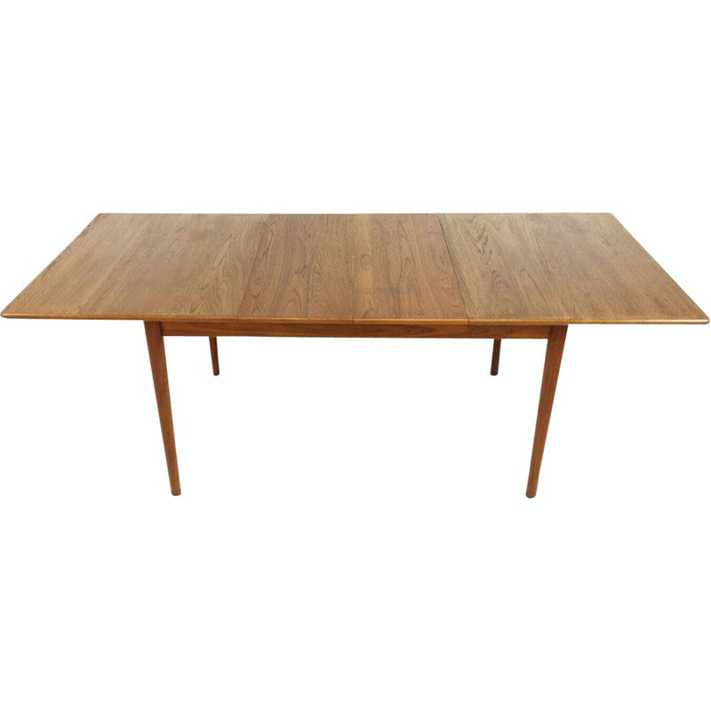 Vintage Scania Extending Teak Dining Table by Nils Jonsson Mid Century for Troeds 60s