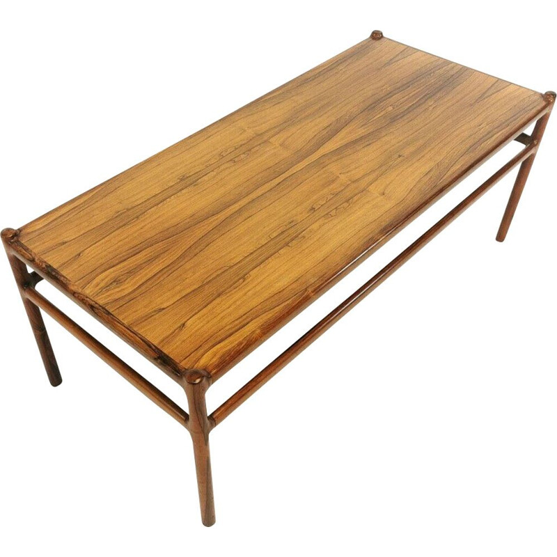 Vintage Coffee Table - By Johannes Andersen for Silkeborg Môbelfabrik ,Denmark, 1960
