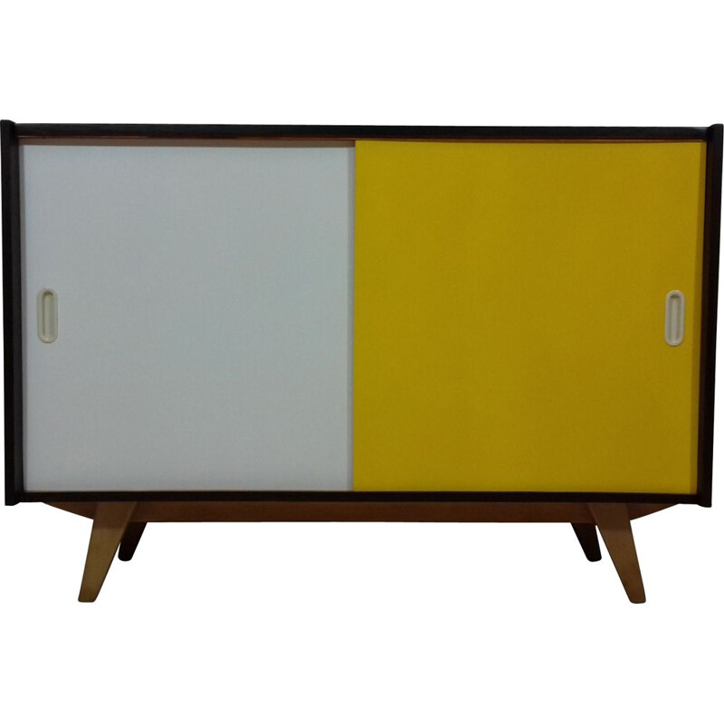 Vintage sideboard for Interier Praha in beechwood 1960s