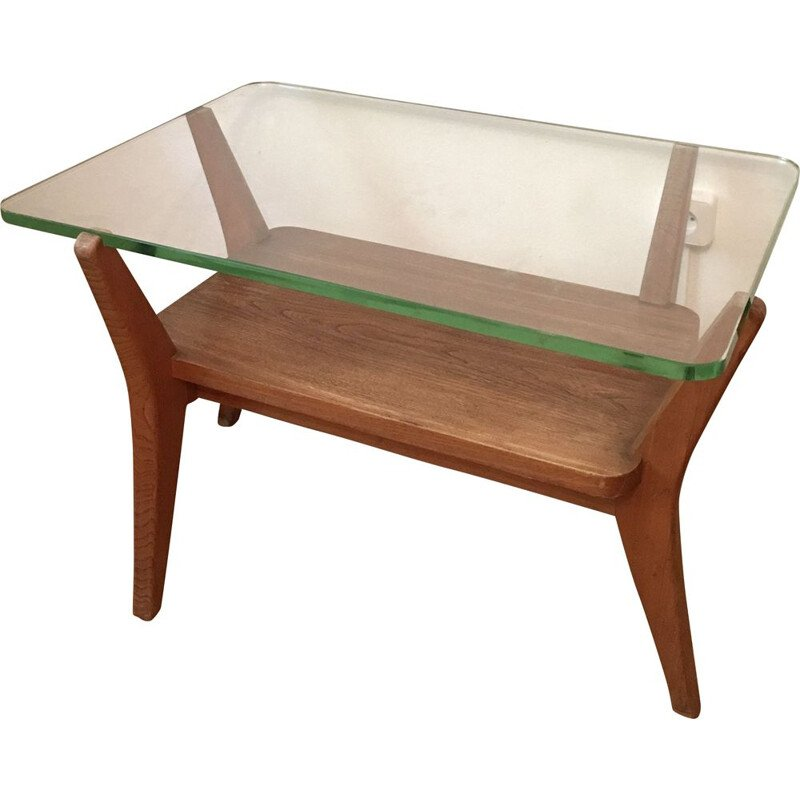 Vintage unique coffee table by Karel Kozelka and Antonin Kropacek, 1940s