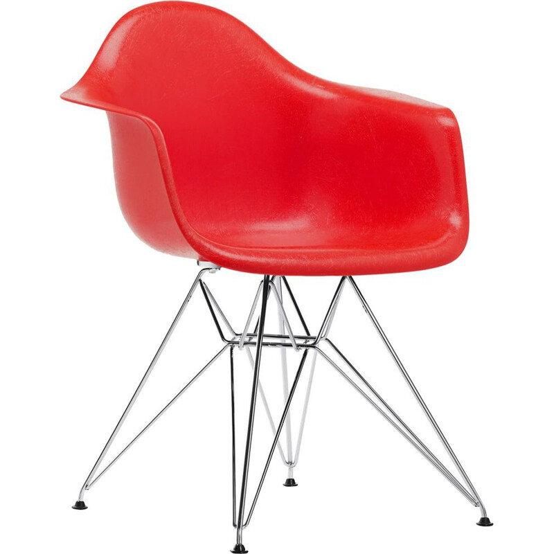 """Fiberglass Armchair DAR"" by Charles and Ray Eames for VITRA"