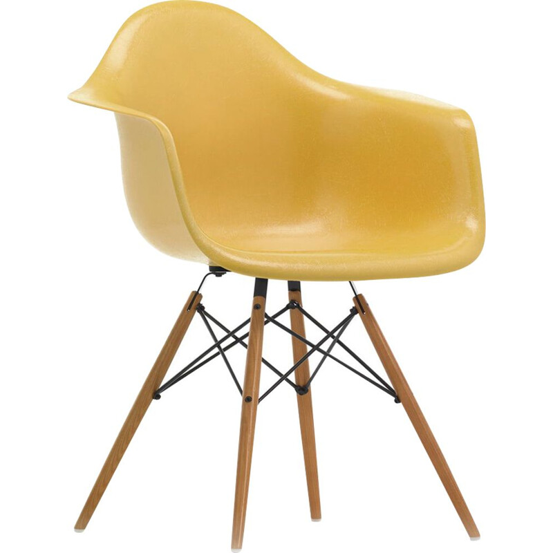 """Fiberglass Armchair DAW"" by Charles and Ray Eames for VITRA"